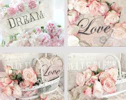 Shabby Chic Wall Art by Rose Photography Pink Roses Prints Shabby Chic Roses Art