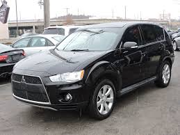 black mitsubishi outlander used 2011 mitsubishi outlander gt at saugus auto mall