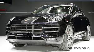 porsche macan turbo white 2014 porsche macan turbo and macan s official debut photos15
