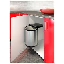 meuble cache poubelle cuisine poubelle d u0027armoire à ouverture automatique poubelles bacs