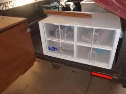 andrews camper trailer kitchen