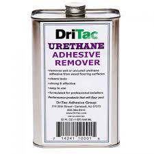 liquid urethane adhesive remover for wood flooring dritac
