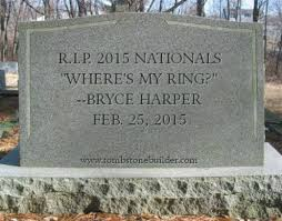pictures of tombstones nats enquirer a collection of tombstones for the 2015 washington