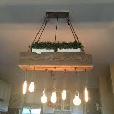 Toronto Chandeliers Wooden Light Fixture Custom Reclaimed Barn Wood Beam Chandelier