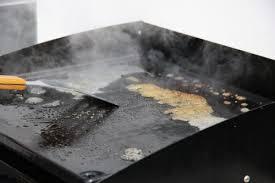 plancha de cuisine quelques conseils pour nettoyer votre plancha plancha la cuisine