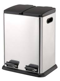 Kitchen Cabinet Recycle Bins organize it all square step on recycling bin 4942w trash
