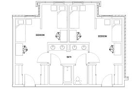 floor plans honors academic village student housing toledo oh