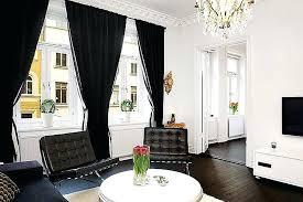 Black Living Room Curtains Ideas Black Living Room Curtains Black And Curtains For Living Room
