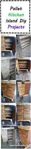 Diy Kitchen Island Pallet Pallet Kitchen Island Diy Projects I Love2make