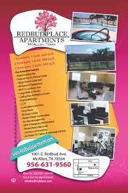 redbud place apartments 1001 e redbud ave mcallen tx one bedroom one bath floor plan pdf