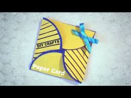 how to make simple origami greeting card making birthday
