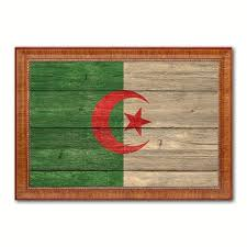 Home Decor Gift Items Buy Algeria National Flag Art Country Canvas Print Wall Decor Home