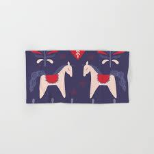 christmas towels swedish christmas bath towel by lavieclaire society6