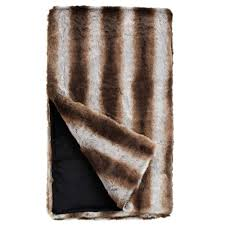 Faux Fur Throw Pillow Chinchilla Faux Fur Throw Blanket Throws U0026 Pillow Fabulous Furs