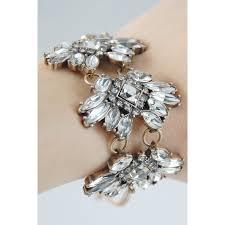 crystal stone bracelet images Maharaja pave geo crystal stone burst antique chic statement bracelet jpg