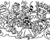 free coloring pages mario 3d colouring pages 3d coloring