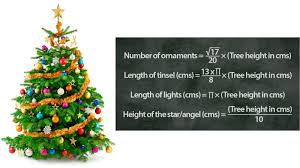 the mathematical formula for a perfectly decorated tree