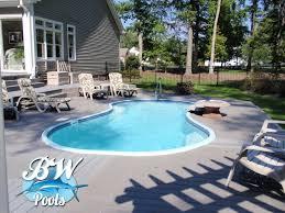 inground pool designs for small backyards round designs