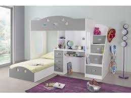 lit superpos combin bureau lit mezzanine chambre enfant chambre literie