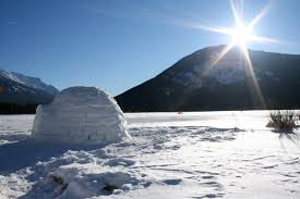 igloo why igloos work catenoids crystal structures and the 61 degree
