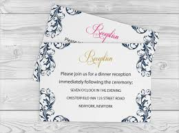 Wedding Reception Card 63 Wedding Card Templates Free U0026 Premium Templates