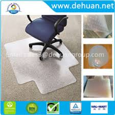 china office products pvc plastic chair mat for hard floors 45 x