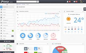 genyx responsive admin template bootstrap responsive themes