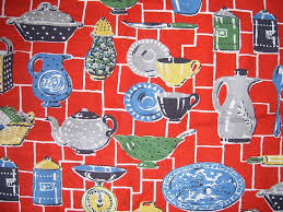 Retro Kitchen Curtains 1950s by 62 Best 1950 U0027s Kitchens Images On Pinterest Retro Kitchens