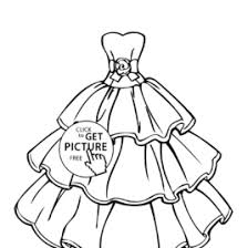 coloring dress kids drawing coloring pages marisa