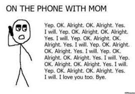 Talking On The Phone Meme - talking with mom viral viral videos