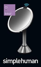 simplehuman simplehuman 8 inch sensor mirror lighted makeup