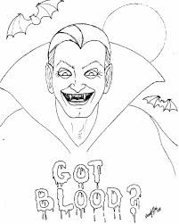 vampire coloring pages archives best coloring page