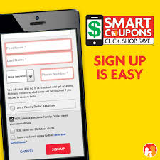 smart coupons at family dollar save time and money