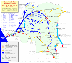 What Is A Road Map Transport In The Democratic Republic Of The Congo Wikipedia