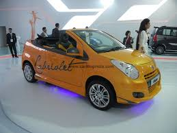 convertible cars maruti a star cabriolet convertible car at auto expo 2012
