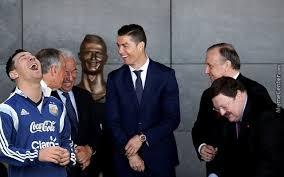 Cristiano Ronaldo Meme - cristiano ronaldo statue the best memes reactions by
