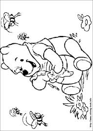 pooh coloring picture