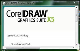 coreldraw x5 not starting error while installation no graphics shown coreldraw graphics