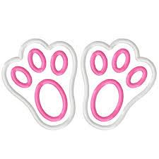 bunny feet clipart 34