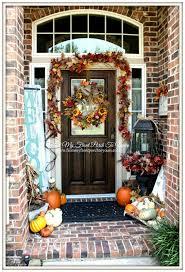 halloween door garland 25 best fall front door decor ideas and designs for 2017