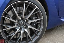 lexus ice wheels video 2015 lexus rc f review with video u2013 is f greater than m