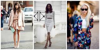 matching sets comeback trend fashiongum
