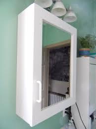 Bathroom Mirror Medicine Cabinet With Lights Bathroom Brushed Nickel Medicine Cabinet Afina Medicine