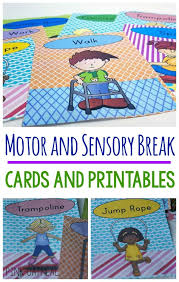 Sensory Room For Kids by Motor And Sensory Break Cards And Posters Sensory Rooms Special