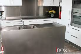 cuisine monobloc inox fr tous les éléments de cuisine