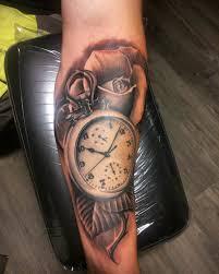 clock tattoo on hand 38 watch tattoo designs ideas design trends premium psd