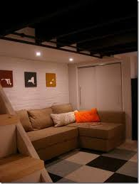 How To Finish A Basement Ceiling by 313 Best Basement Ideas Images On Pinterest Basement Ideas