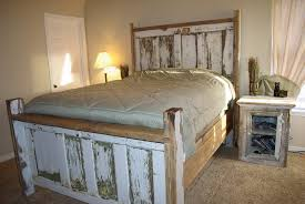 Making Headboards Out Of Old Doors by Reclaimed Wood Headboard Chevron Home Design Ideas