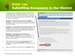 how to apply for a job online ppt download