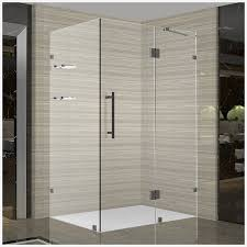 Oil Rubbed Bronze Frameless Shower Door by Aston Avalux Gs Completely Frameless Shower Enclosure With Glass